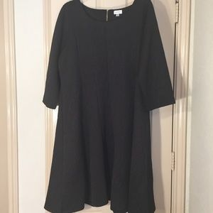 Women's Avenue Black Patterned Dress, sz.14/16